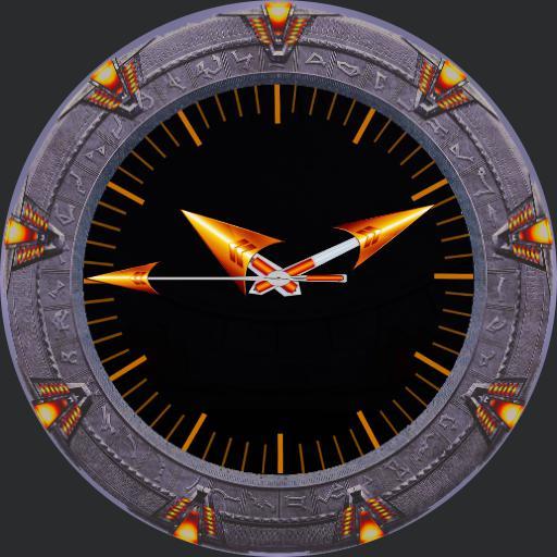 Stargate tribute with gate closure.