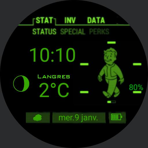 Fallout Pip Boy with sounds 24h Date fr