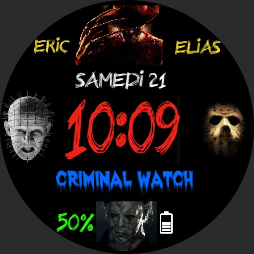 killer watch by Eric Elias