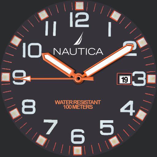 Nutica Blue-Orange