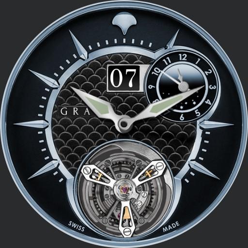 MasterGraff Grand Date Dual Time Tourbillon