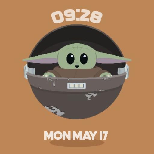 baby Yoda 2021
