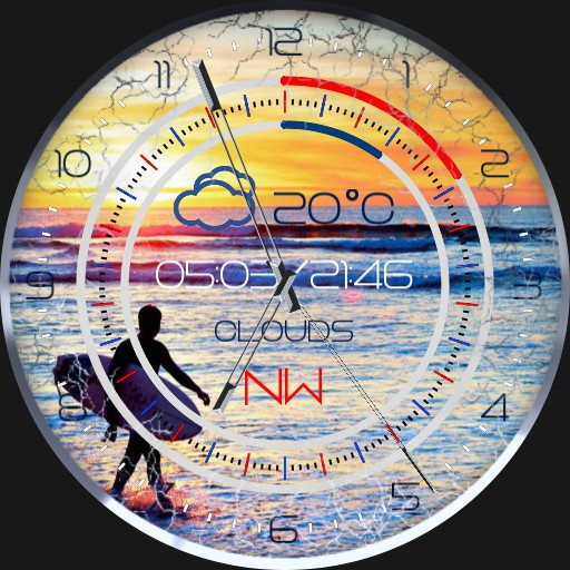 Surferface Windspeedometer 2S.Rotation