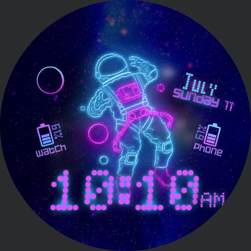 Neon Space Copy