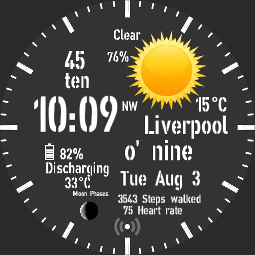 Liverpool Time Peace