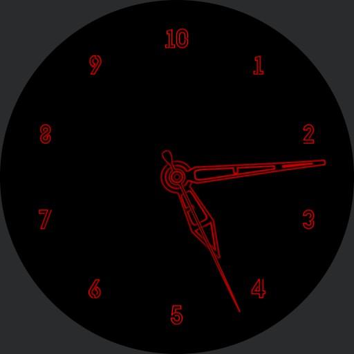 Dobranoc 10h Decimal Time Watch