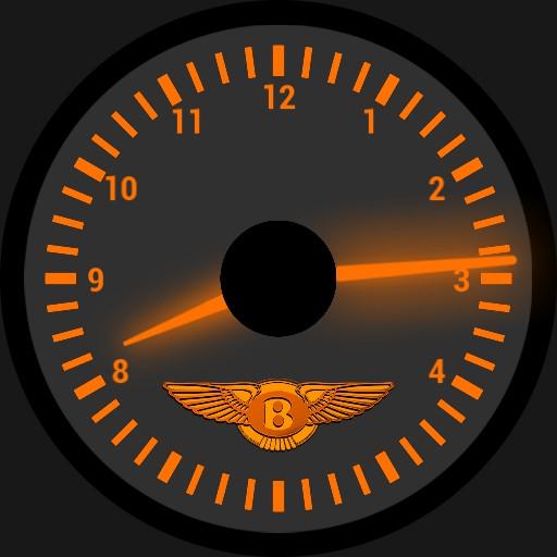 Bentley Arnage interior clock