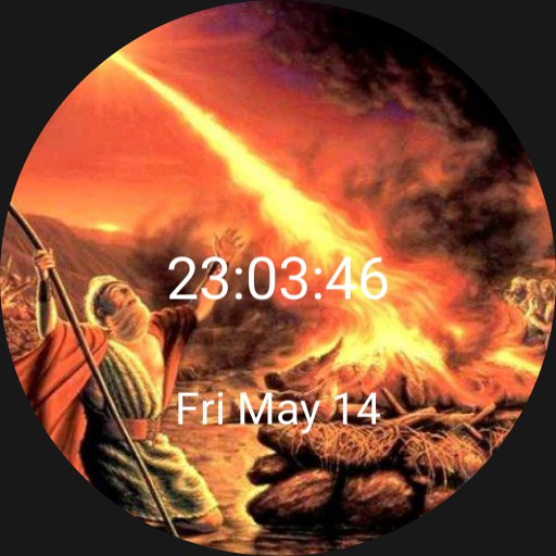 Elijah Calling Down Fire