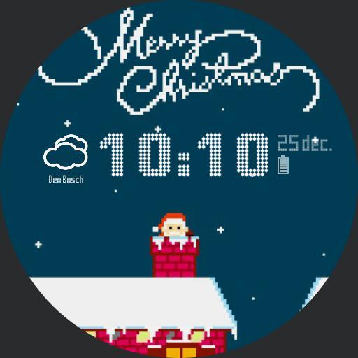 8bit Merry_Christmas