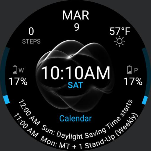 Calendar Watch with Flash Animated