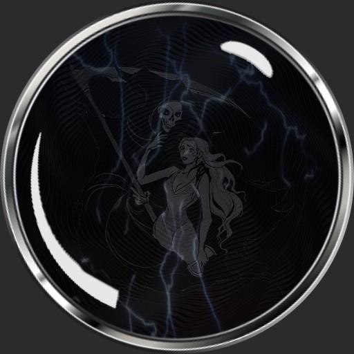 Deaths electric crystal ball