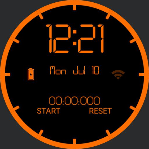 The division watch face