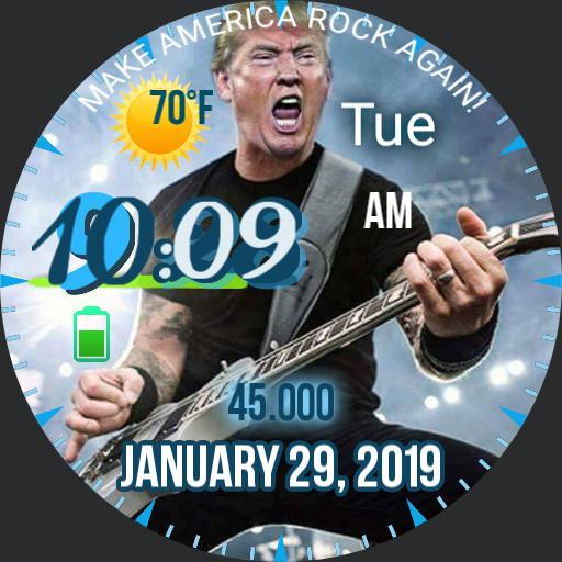 Trump Rocks
