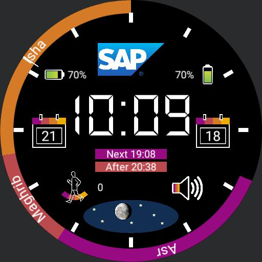 My SAP Digital Watch 3
