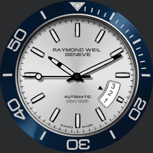 0 Raymond Weil Freelancer Diver