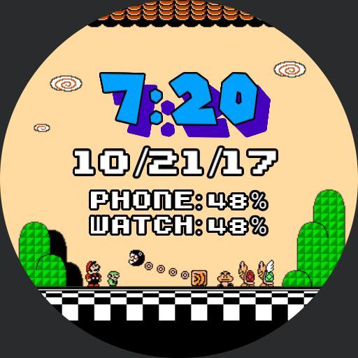 SMB3 Title Screen
