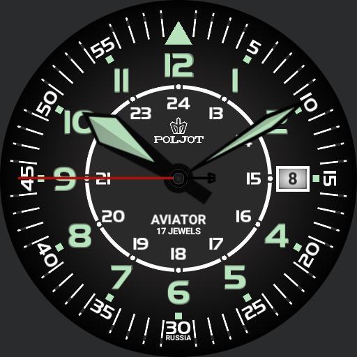Poljot Aviator 01 - badeeudin