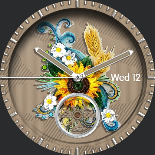 Floral Tourbillon Ucolor