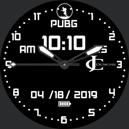 PUBG running man.