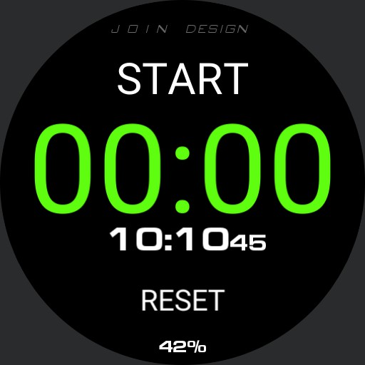 JOIN DESIGN STOP WATCH 38 Copy