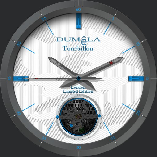 Dumla Tourbillon  with zoom