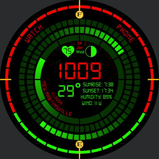 Green red digital