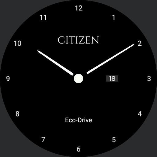 Citizen Eco-Drive Classic BW