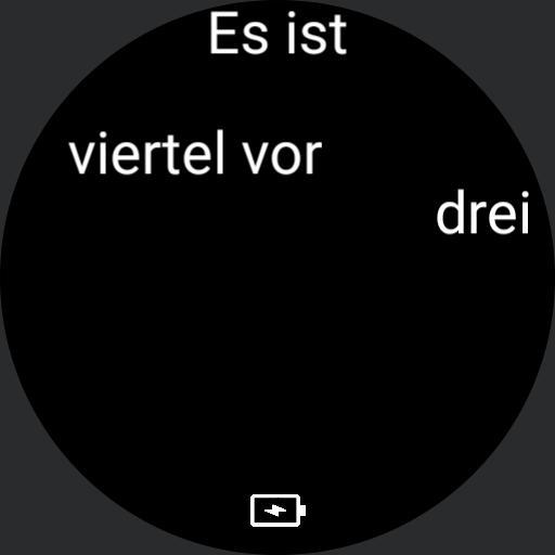 Word Clock - Deutsch / German