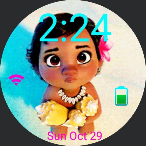 Baby Moana theme