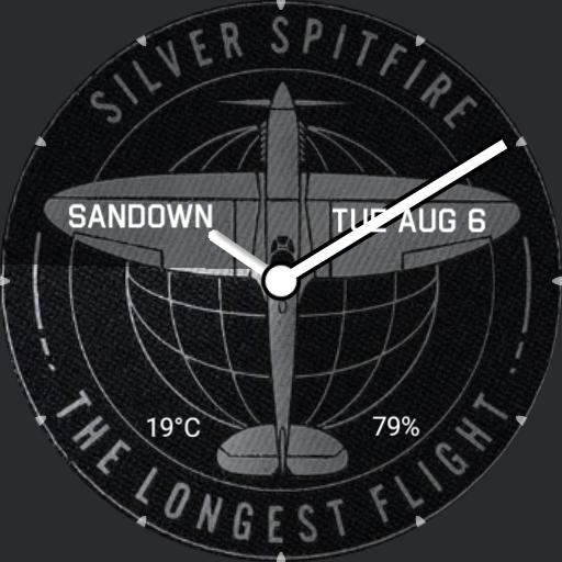 Silver Spitfire V1