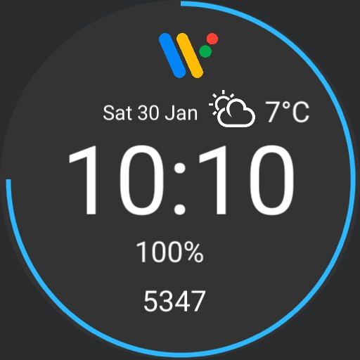 Google wear os watch face