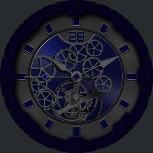 Blue Gears Zoom