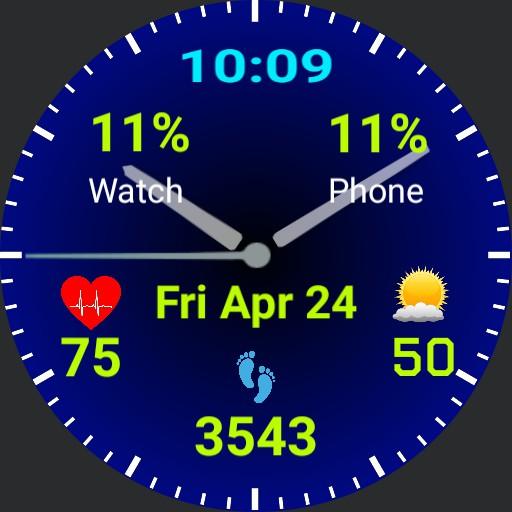 GSP Bluepalm Watch Copy