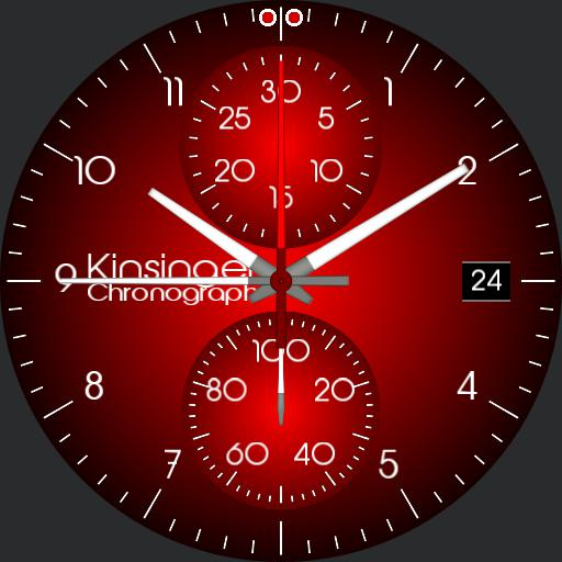 Kinsinger Elegance Chronograph themable