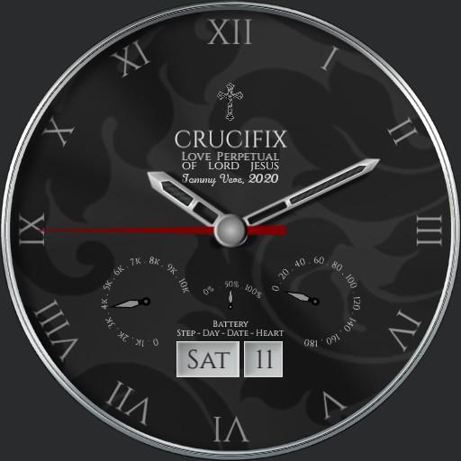 Crucifix Watch Crono