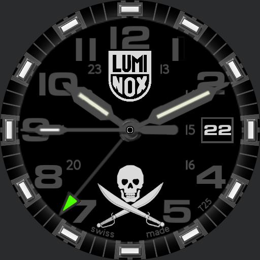 luminox jolly rodger Copy