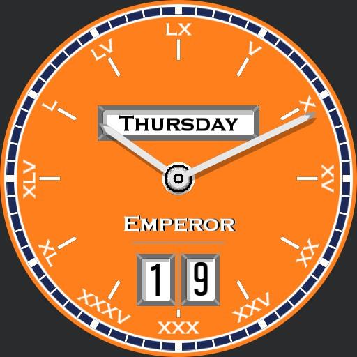 Orange Emperor Day/Date