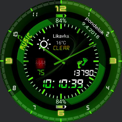 simply green watch