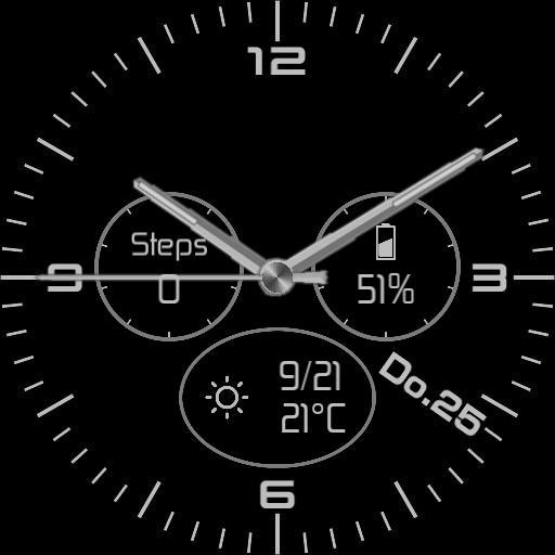Black Watchface