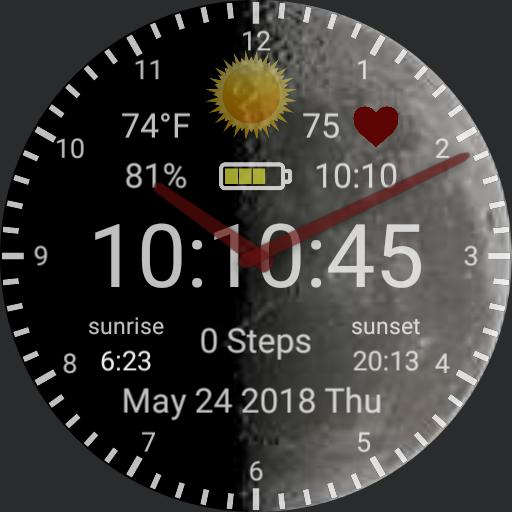 Digital, Steps, Weather, Heart, 24hr, Battery Copy