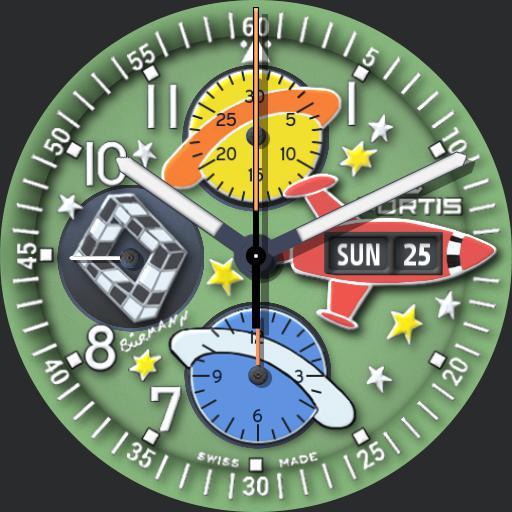 """Fortis """"B42 Flieger - Chronograph"""" V2 Ucolor"""