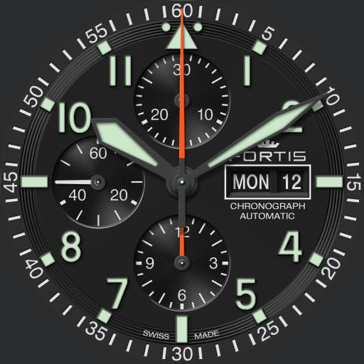 Fortis Flieger Professional Chronograph V1.0