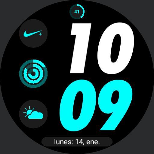 Nike Apple watch digital 3 by geeceejay Copy