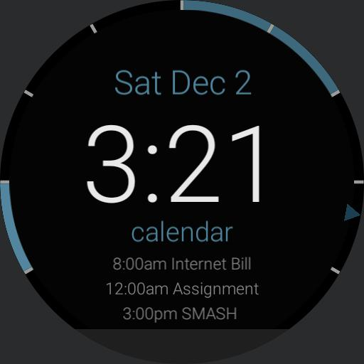 Simple Calendar Watch