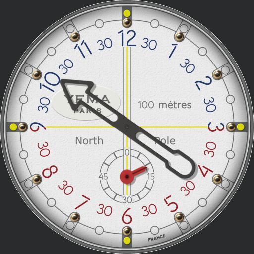 Yema North Pole Limited Edition C.1986 12Hr Version
