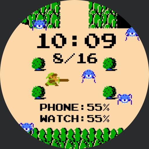 Zelda 1 - Overworld