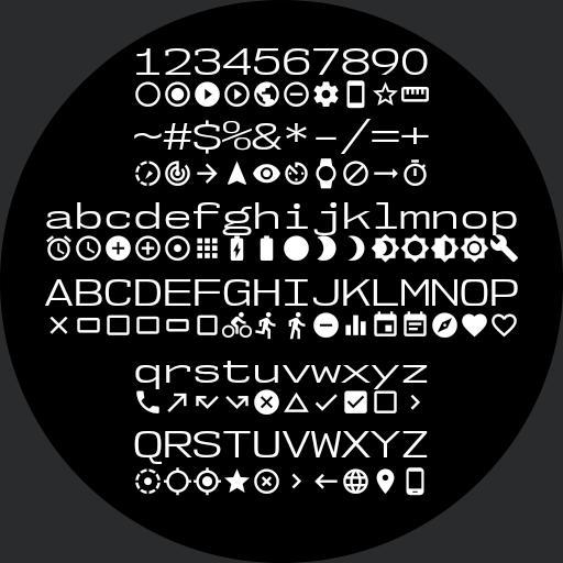 Font Icon List