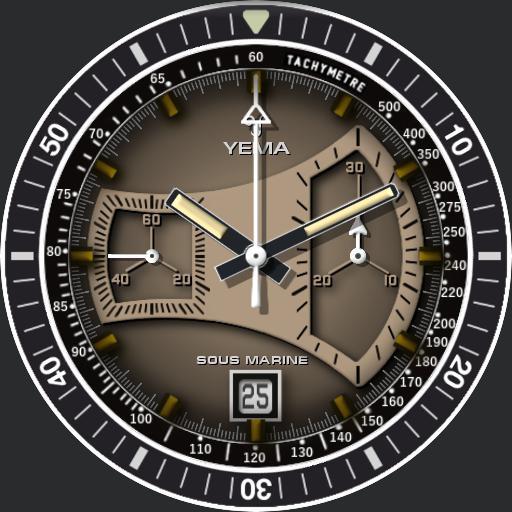 Yema Chronograph Sous Marine V2 Ucolor