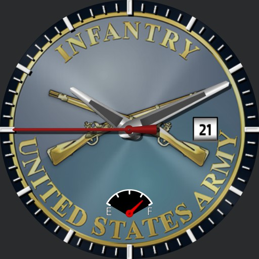 US Infantry Watch face
