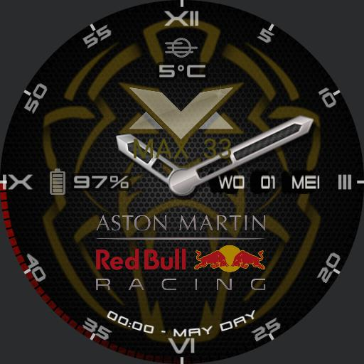TICWATCH  2 RedBullRacing Max 33 naef